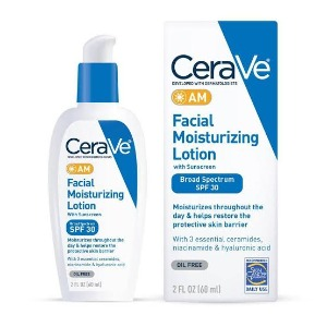 Includes SPF 15    AM Facial Moisturizing Lotion with Sunscreen