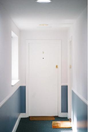 dust free entryway