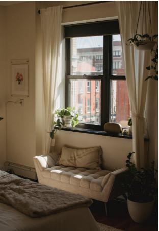 dust free bedroom