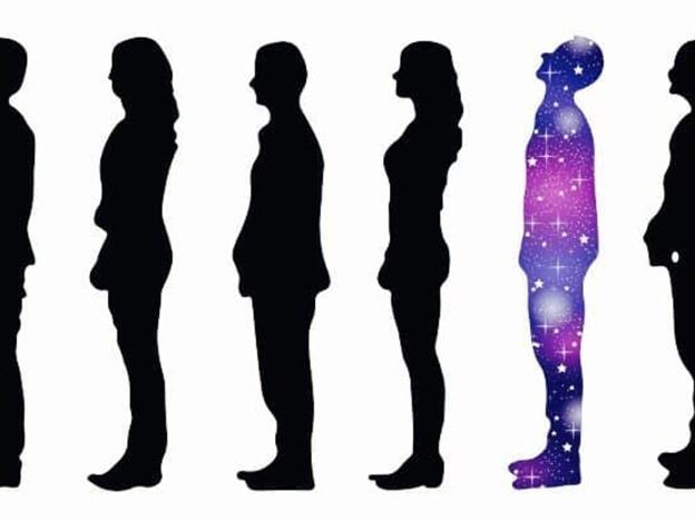 A person who is experiencing a spiritual enlightenment https://www.powerofpositivity.com/spiritual-awakening-physical-signs/