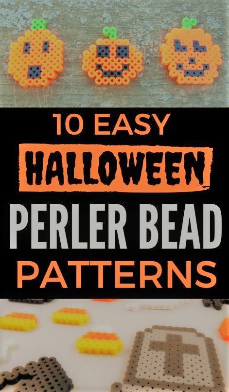 Halloween bead patterns