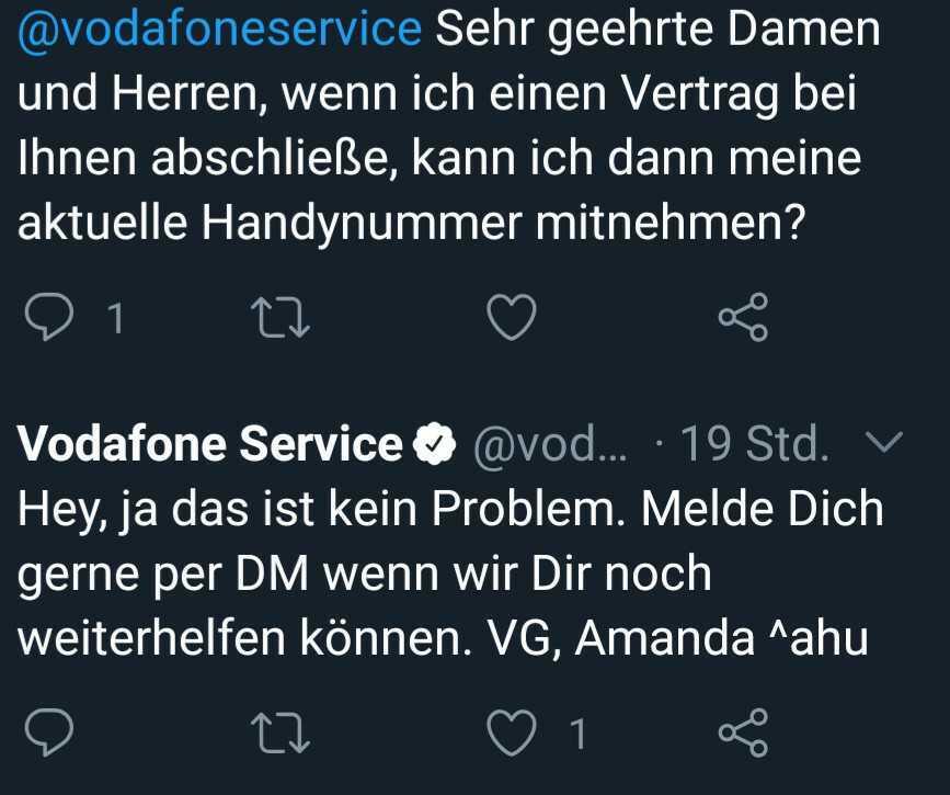 screenshot twitter vodafone