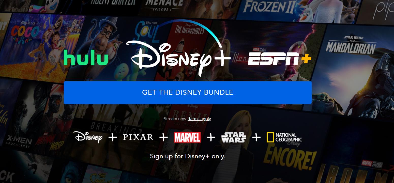 12 ejemplos de landing pages: Disney