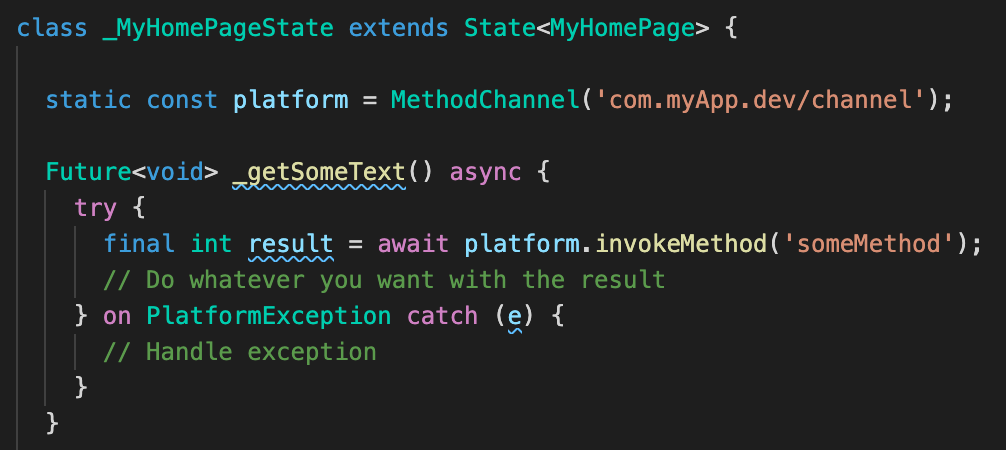 4_code - Calling a method on client side