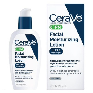 Protection from Wrinkles; Sun Damage, and Acne    PM Facial Moisturizing Lotion