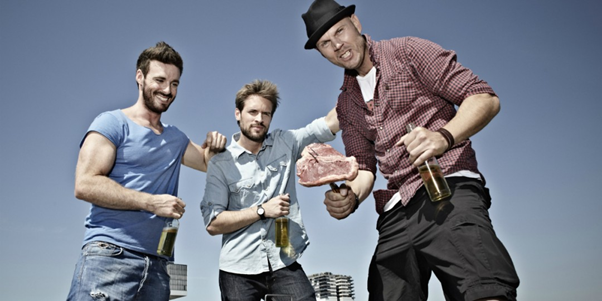 Guys enjoying their time together https://au.askmen.com/top_10/entertainment/top-10-male-bonding-activities.html