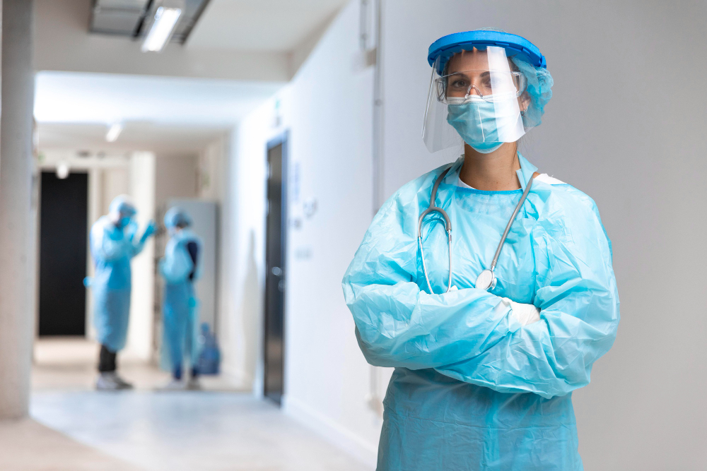 Our staff wear masks and PPE to protect your health at all times.