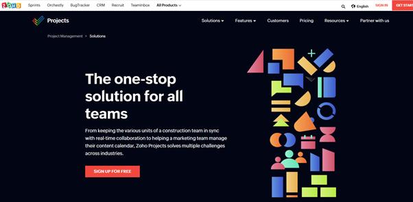 Zoho projects to streamline your workflows