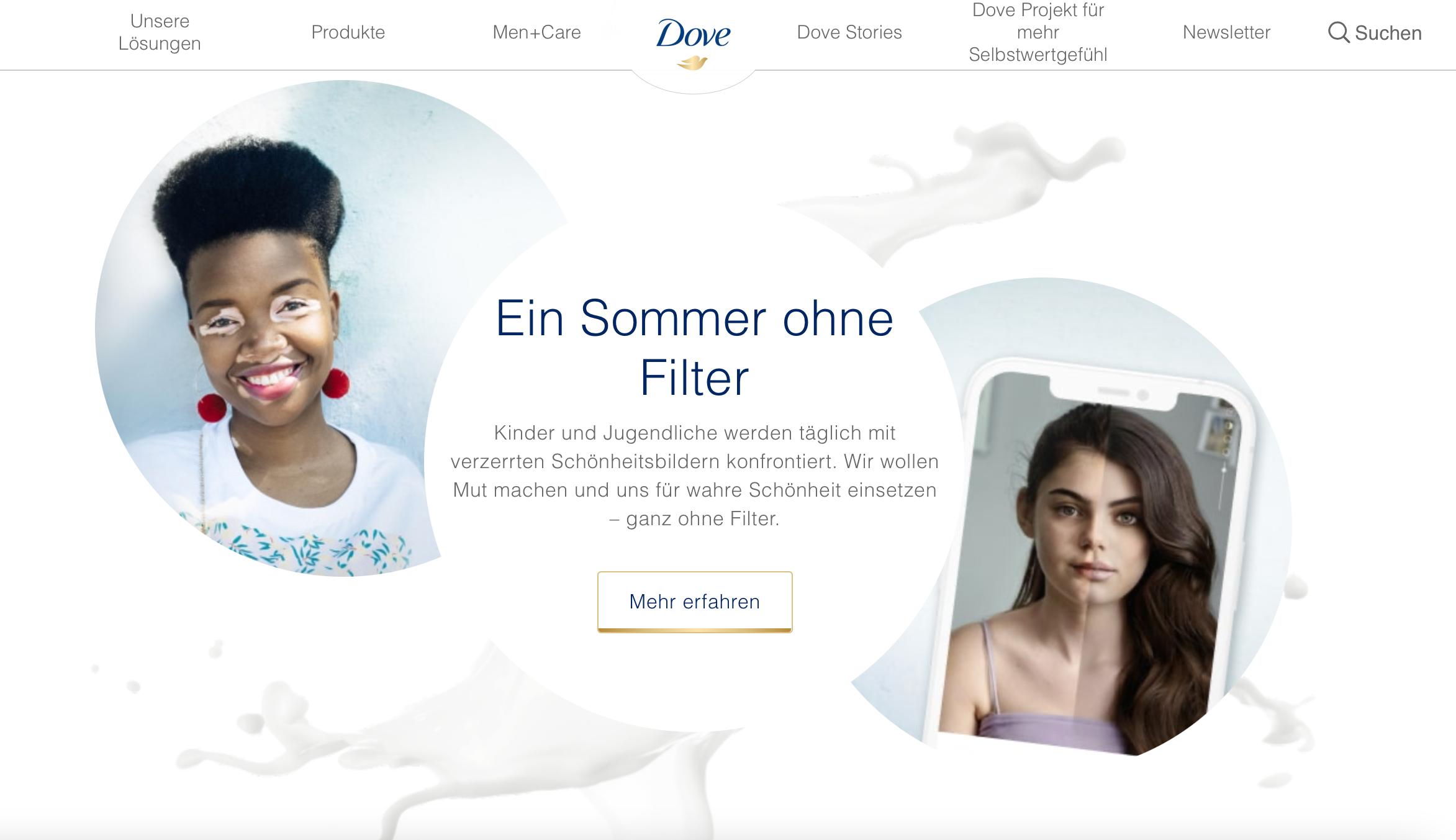 consumer iSights beispiel Dove