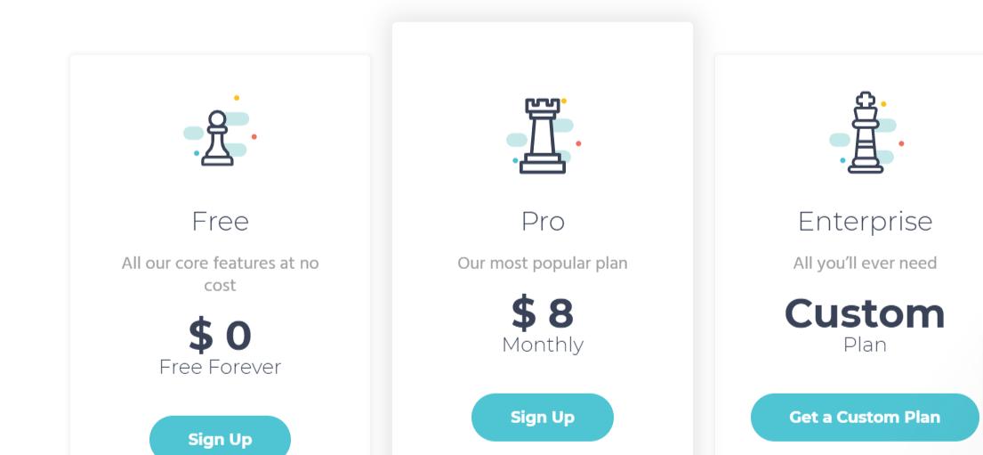 Moosend pricing plans