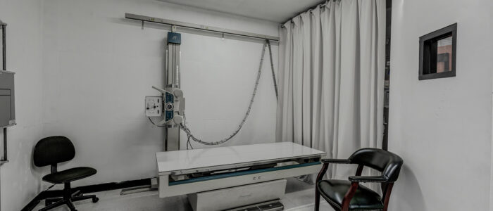 We x-ray your injuries on-site.