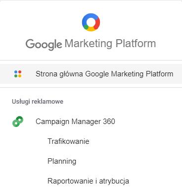 Komponenty Campaign Manager 360