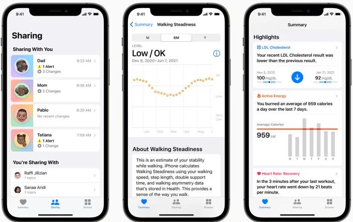 new health app