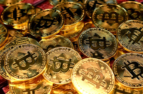 Stored bitcoins.