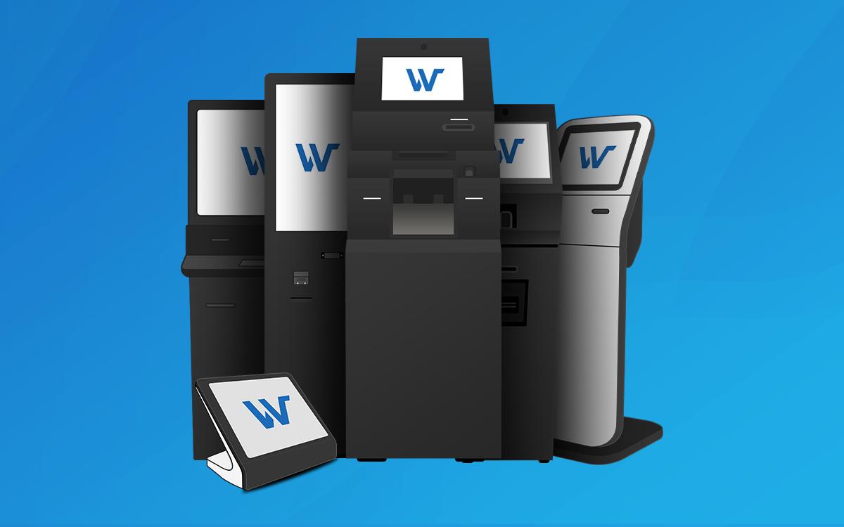 Wavetec self service kiosks