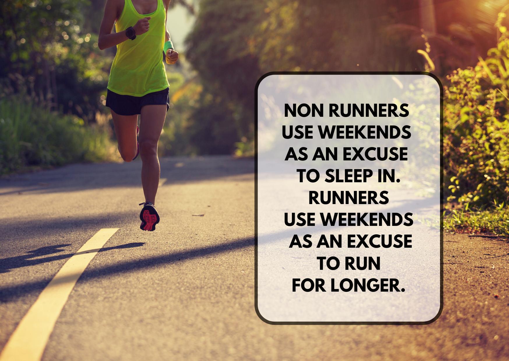 Long running weekends are the core of AllForMarathon marathon training plan