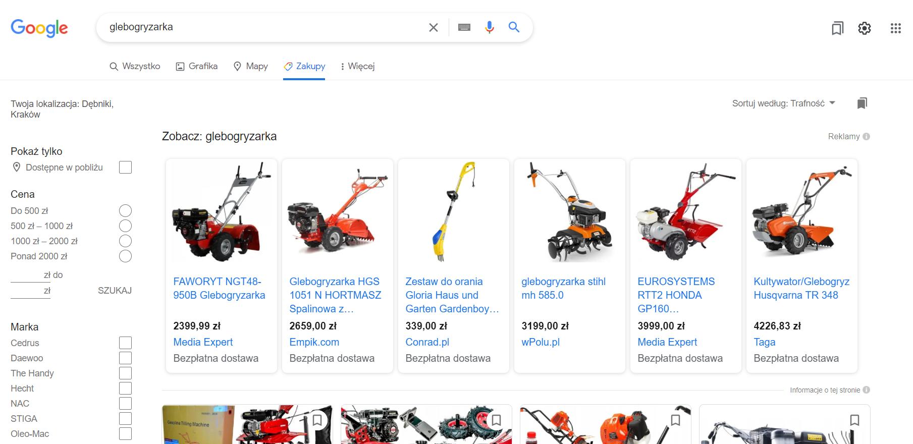 Bezpłatne wyniki wyszukiwania