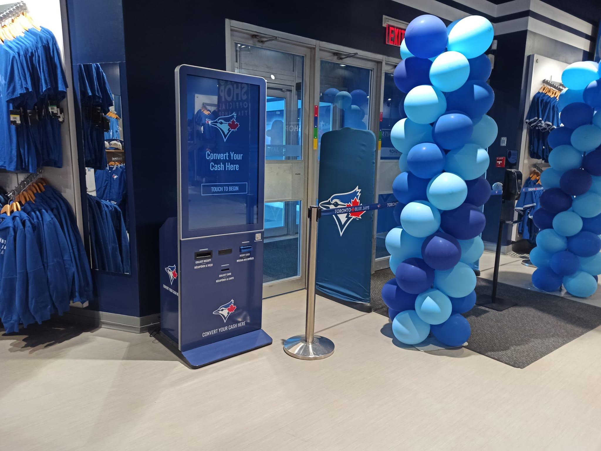 Azimut Reverse ATM at Rogers Centre