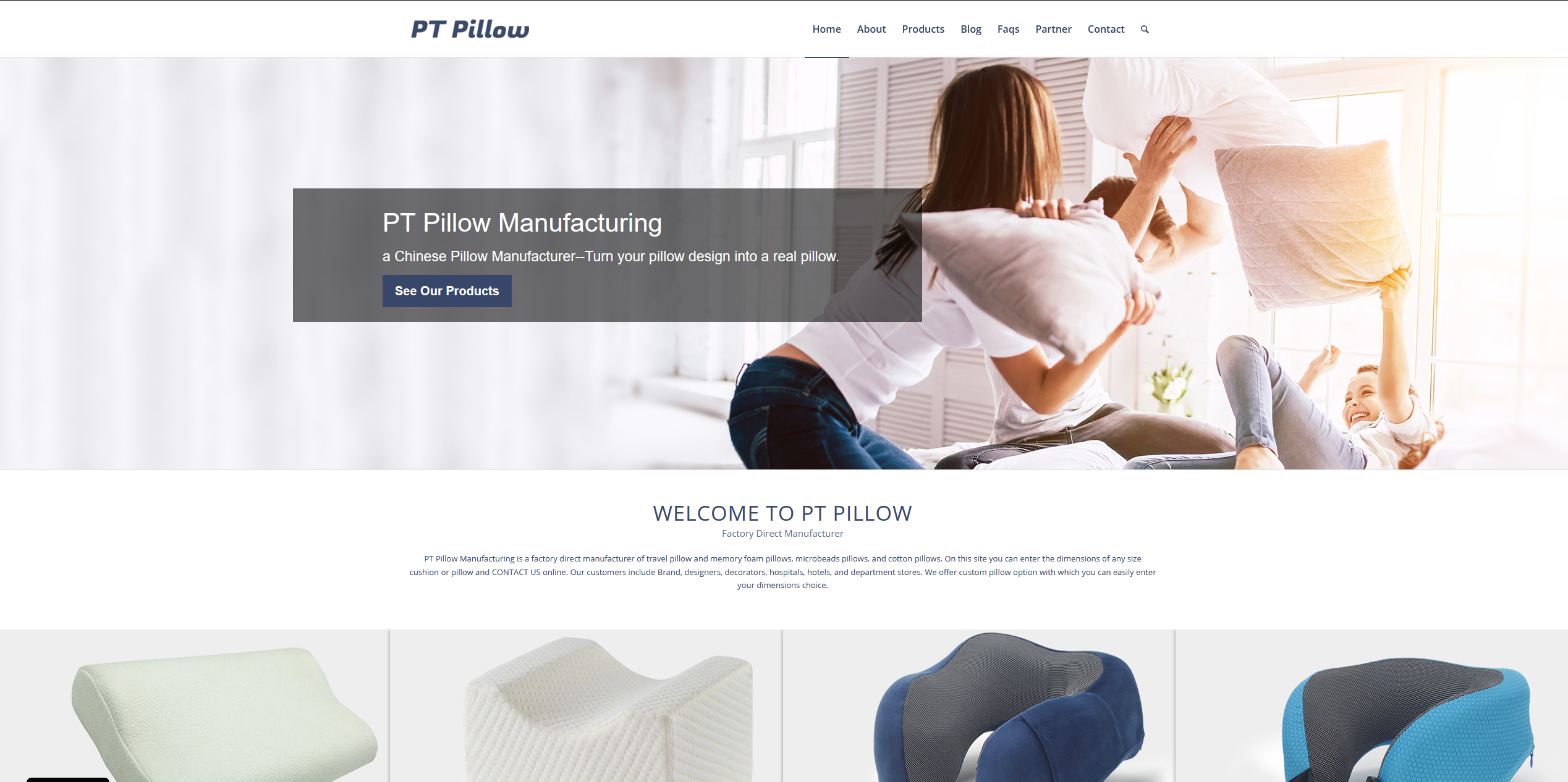 wholesale pillows
