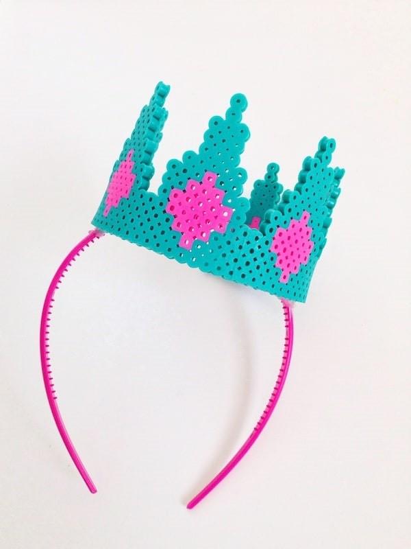 fun perler bead ideas beaded crown
