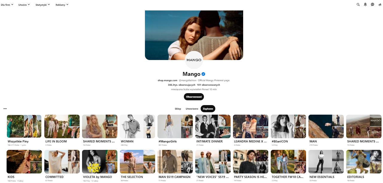 Warto zaistnieć w serwisie Pinteresta