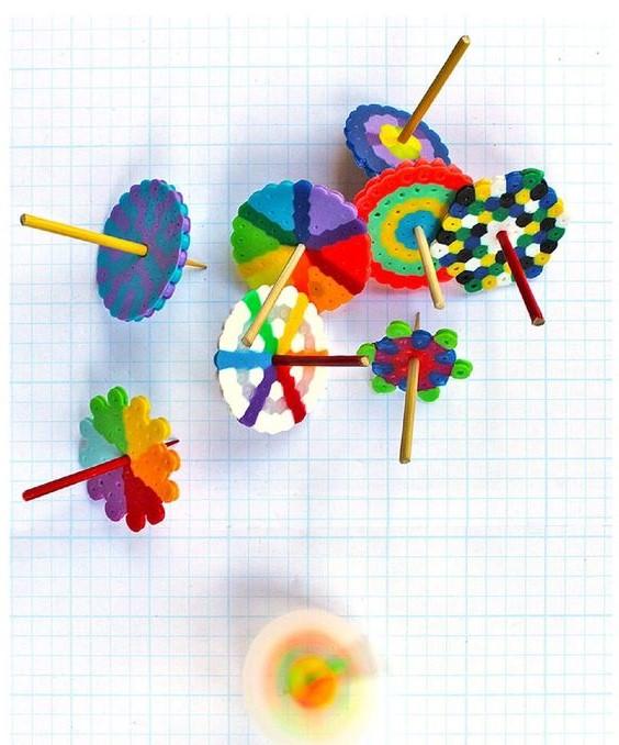 DIY Toys Spinning Tops