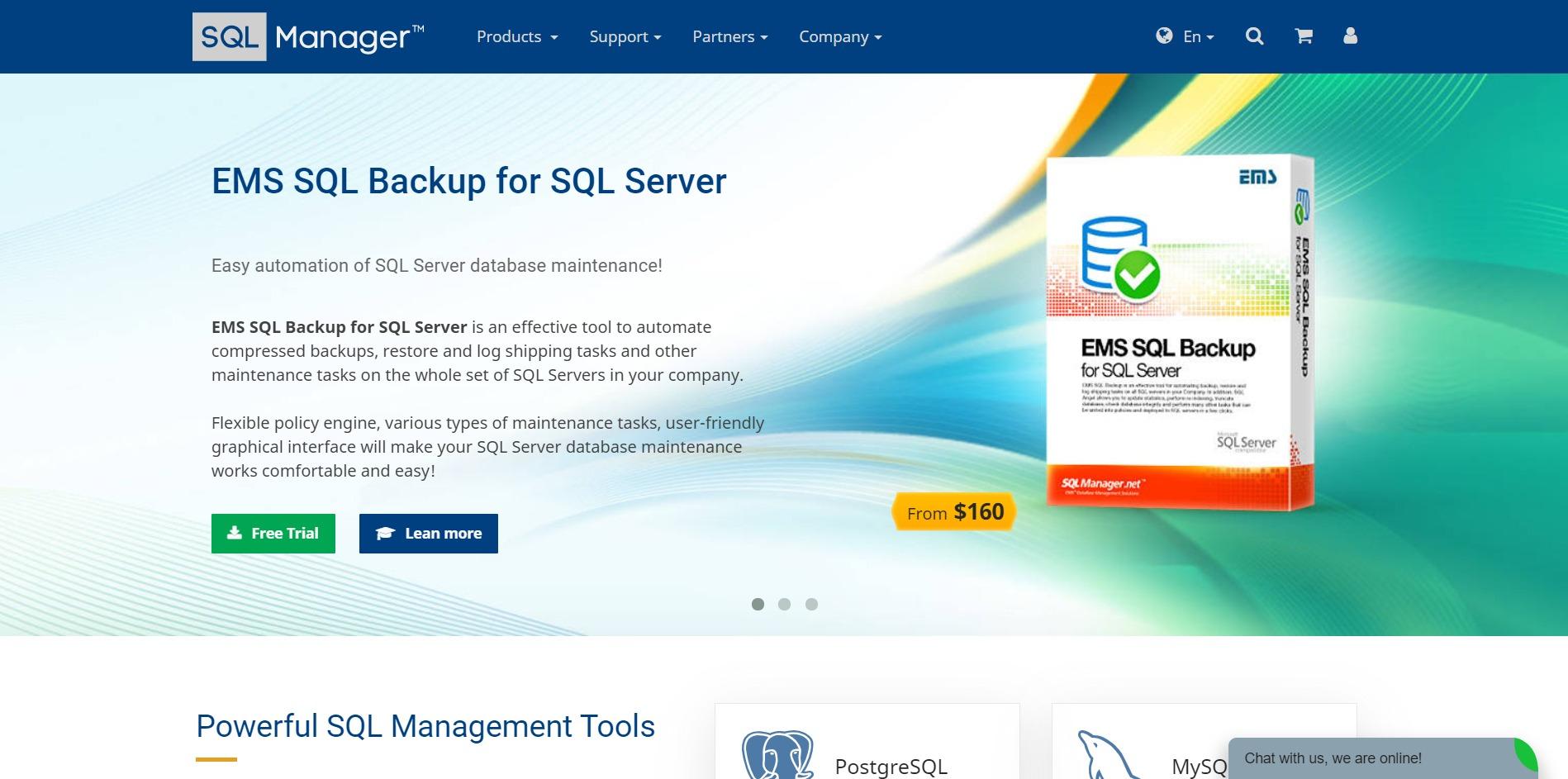 EMS SQL Manager