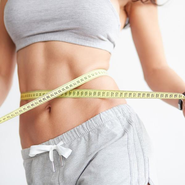 Picture of woman with slim waist