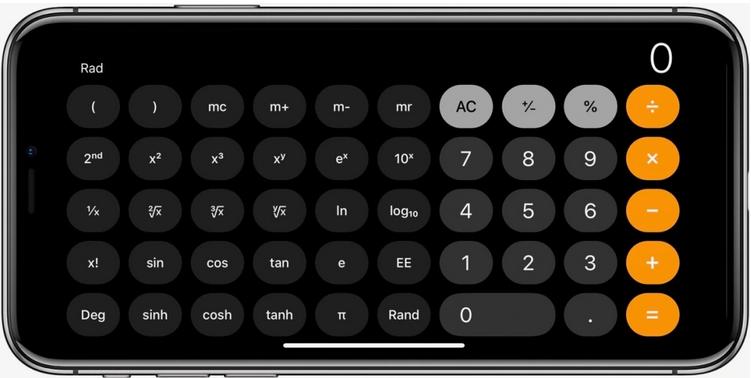 use calculator iphone tips
