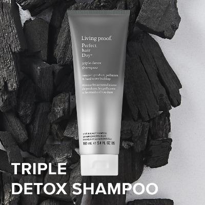 Sulfate Free Clarifying Shampoo: Living Proof Perfect Hair Day Triple Detox Shampoo  | TopTenHairCare.com