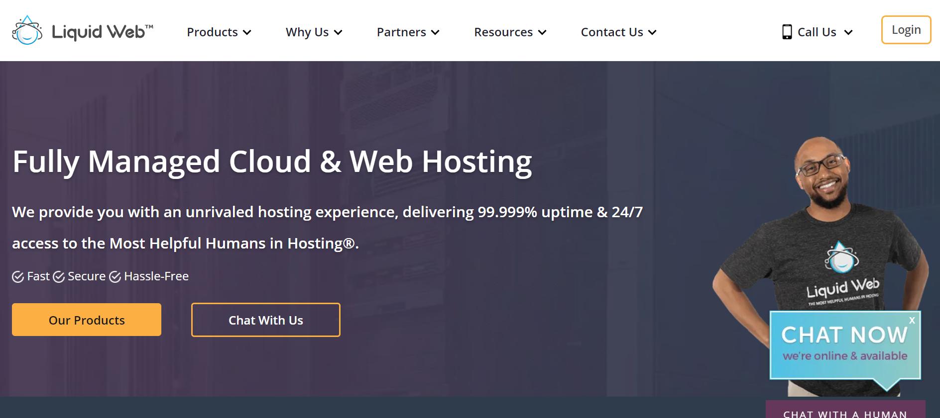 Homepage| Liquid Web