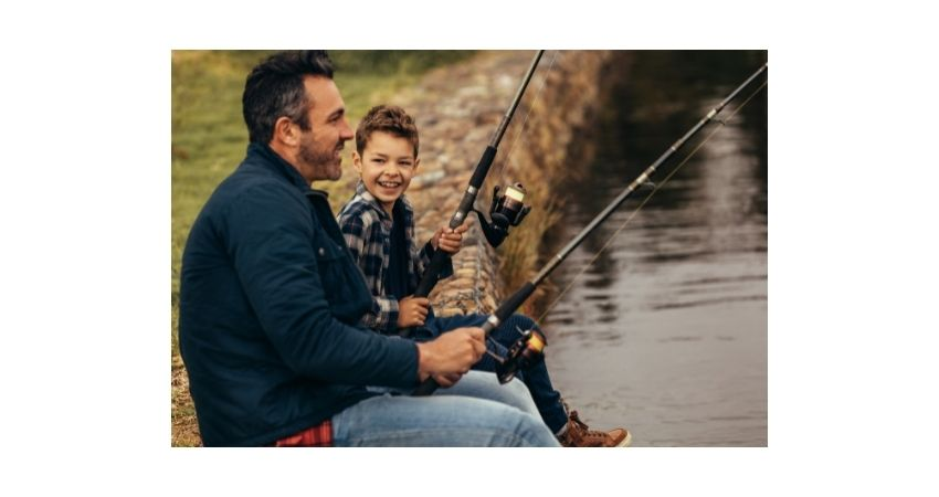 first fishing trip with young children
