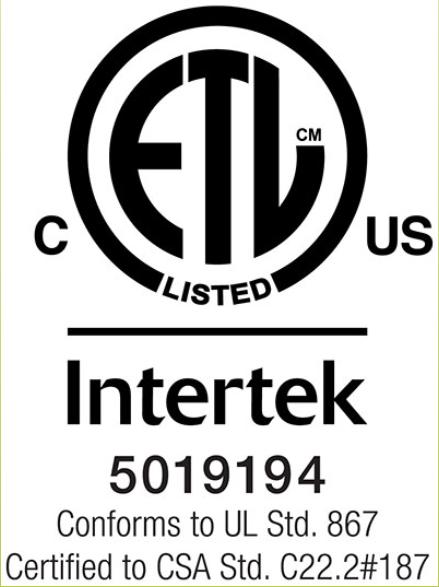Intertek Certified