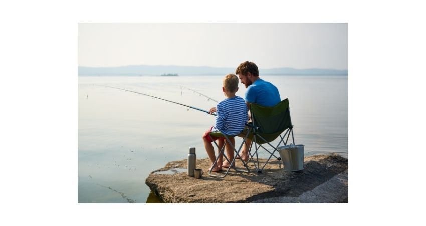 kids fishing safe on boats water