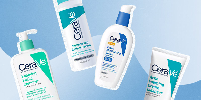 CeraVe SA Cleanser & Best Products for Acne