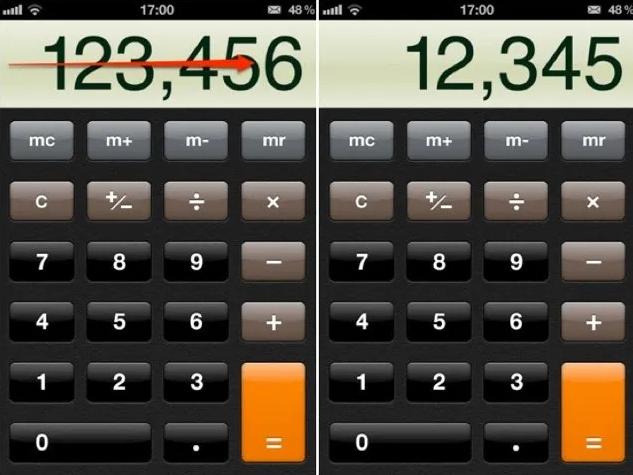 calculator tick