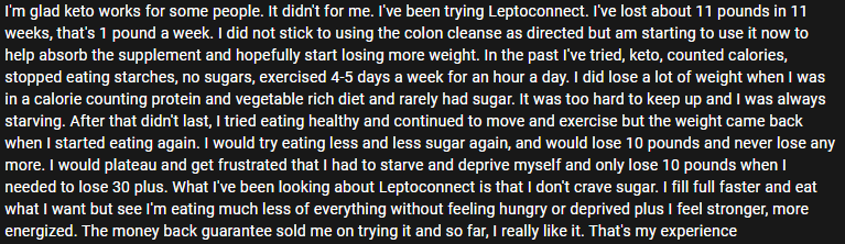 LeptoConnect Review from Sharice