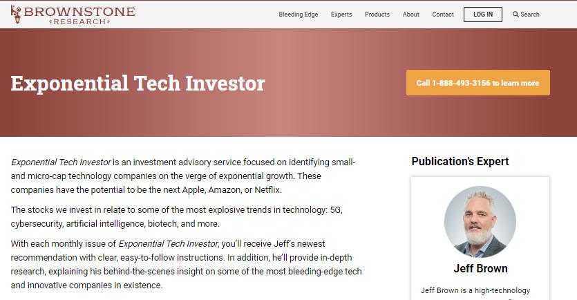 Exponential Tech Investor newsletter