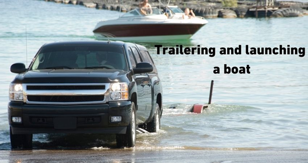 Trailer into the water & launch your boat